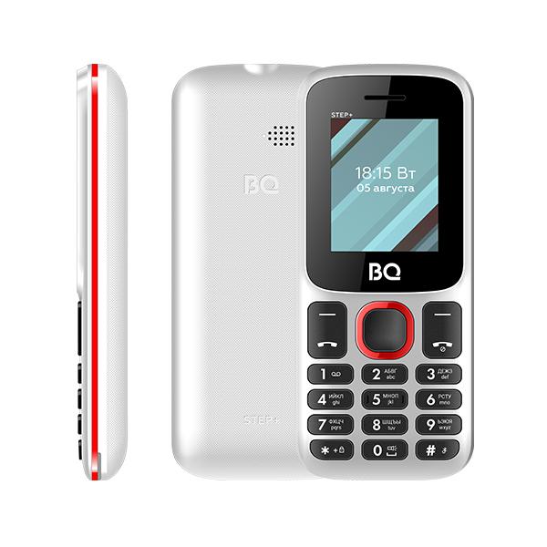 Мобильный телефон BQ BQM-1848 Step white/red