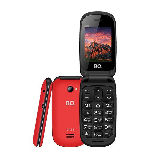 Мобильный телефон BQ BQM-2437 Daze (red) 1