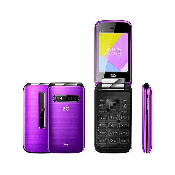 Мобильный телефон BQ BQM-2816 Shell (Purple Mirror)