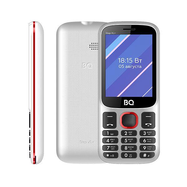 Мобильный телефон BQ BQM-2820 Step XL+ White+Red 1