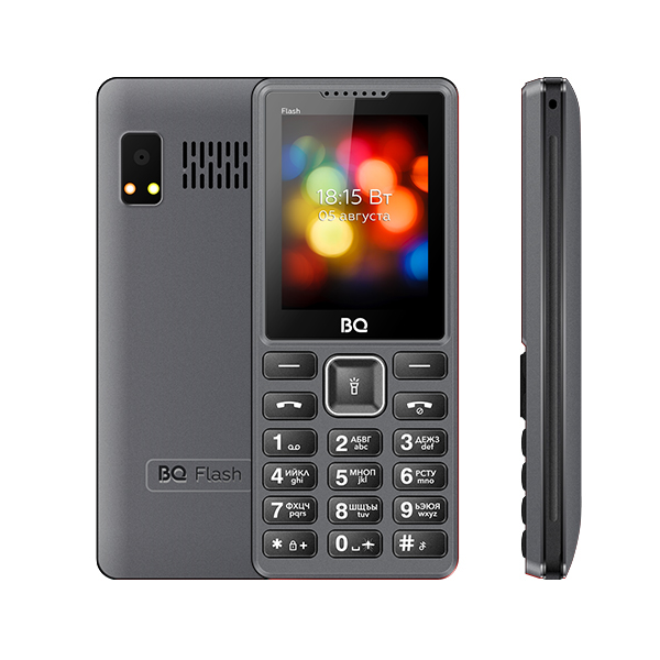 Мобильный телефон BQ BQM-2444 Flash (Gray) 1