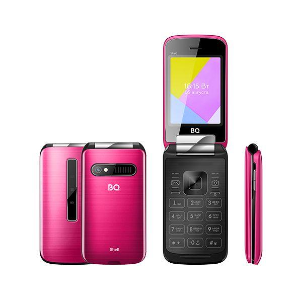 Мобильный телефон BQ BQM-2816 Shell (Pink Mirror) 1