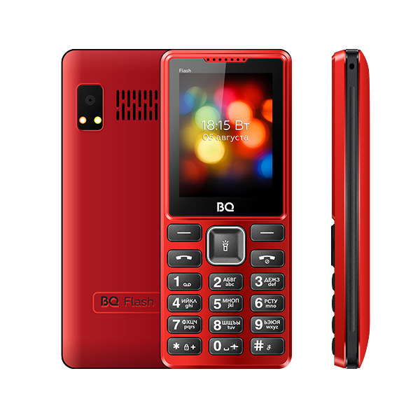 Мобильный телефон BQ BQM-2444 Flash (Red)