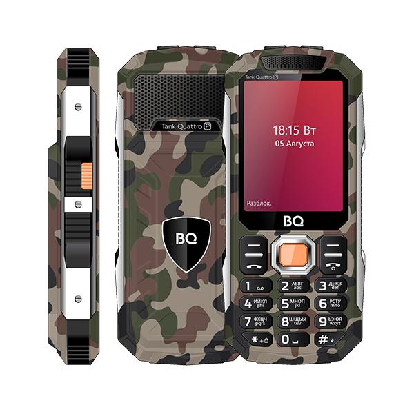 Мобильный телефон BQ BQM-2432 Tank SE (Military Green) 1