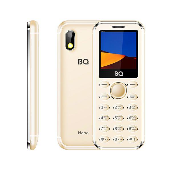 Мобильный телефон BQ BQM-1411 Nano (gold) 1
