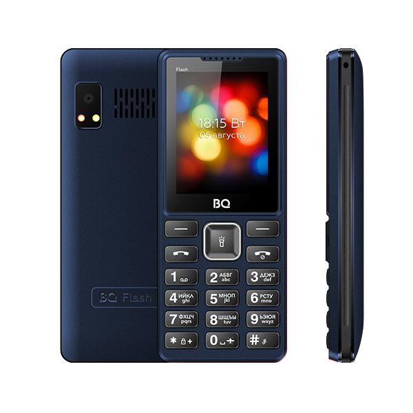 Мобильный телефон BQ BQM-2444 Flash (Blue) 1