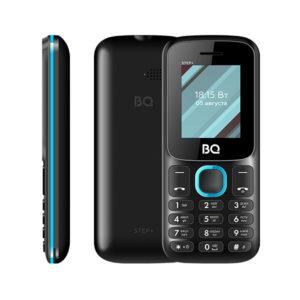 Мобильный телефон BQ BQM-1848 Step Black+Blue