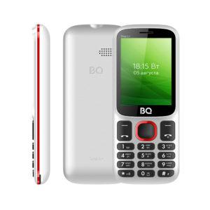 Мобильный телефон BQ BQM-2440 Step L+ White+Red