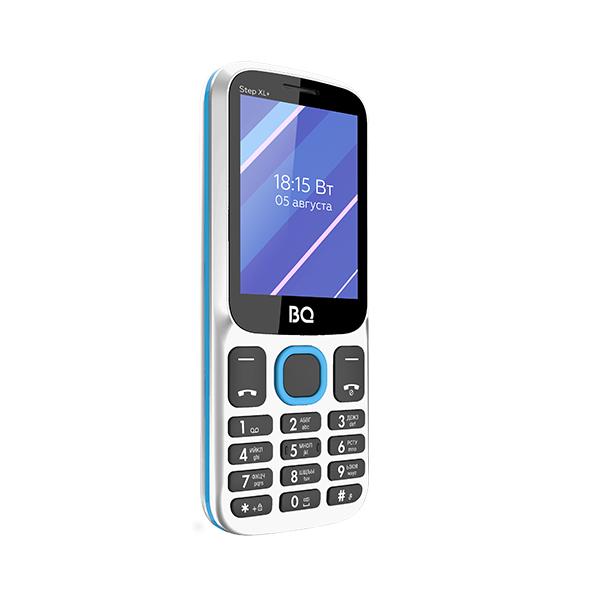 Мобильный телефон BQ BQM-2820 Step XL+ White+Blue 1