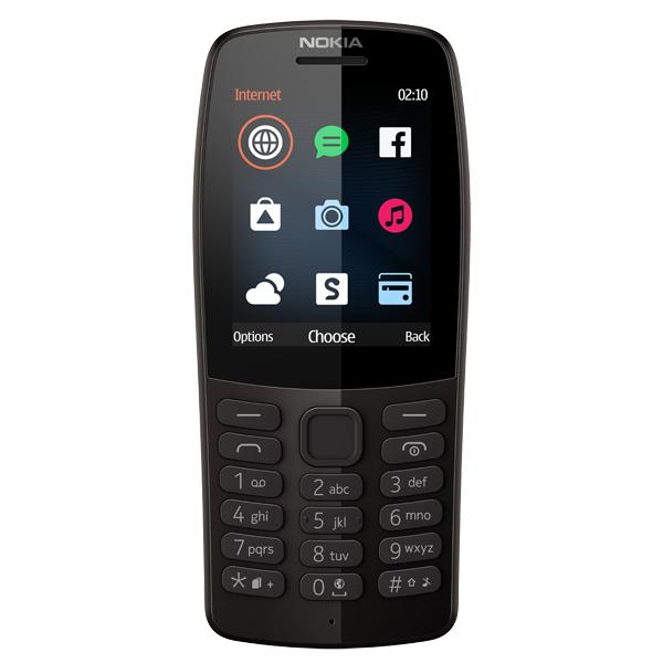 Мобильный телефон Nokia 210 DS Black