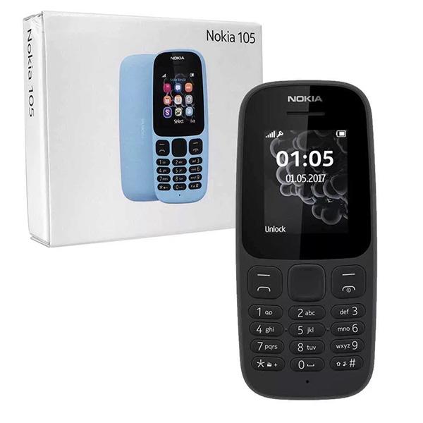 Мобильный телефон Nokia 105 SS 2019 Black