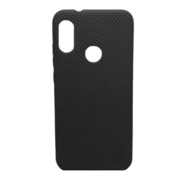 Чехол-накладка с перфорацией (силикон) для Xiaomi Redmi 7 (Черный) 1