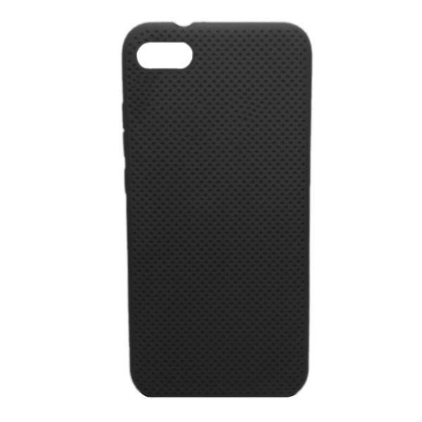 Чехол-накладка с перфорацией (силикон) для Xiaomi Redmi GO (Черный)