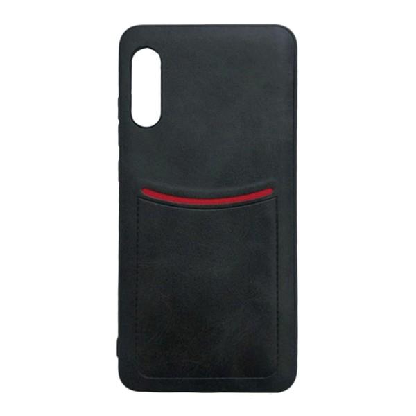 Чехол-накладка ILEVEL /визитница/ для Xiaomi Mi 9 (Черный)