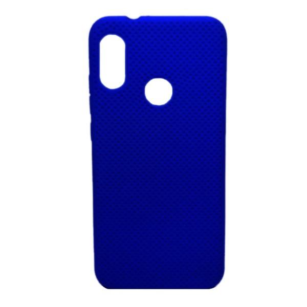 Чехол-накладка с перфорацией (силикон) для Xiaomi Redmi 7 (Темно-Синий) 1