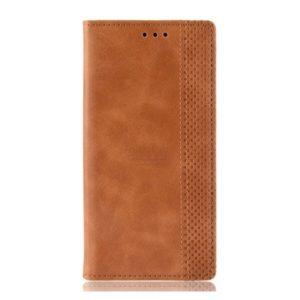 Чехол-книжка с магнитом, кошелёк,силикон для Xiaomi Mi9 (2019) (коричневый)