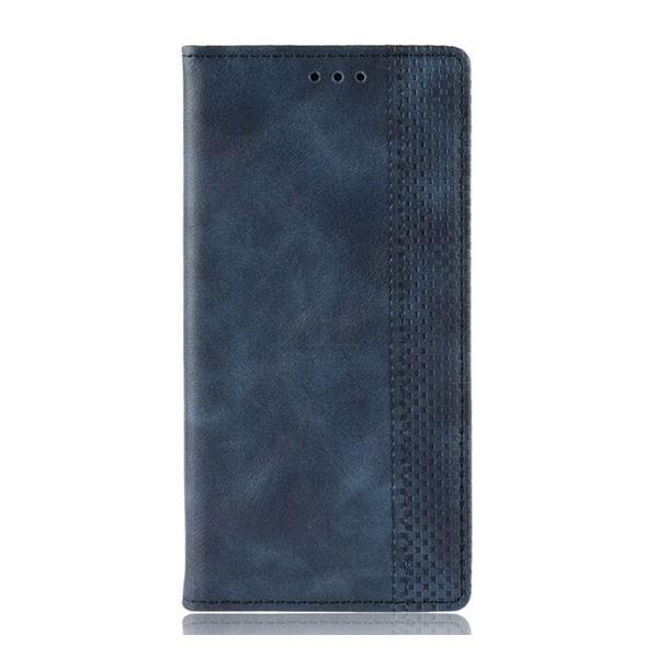 Чехол-книжка с магнитом, кошелёк,силикон для Xiaomi Redmi Note 8 Pro (2019) (темно-синий)