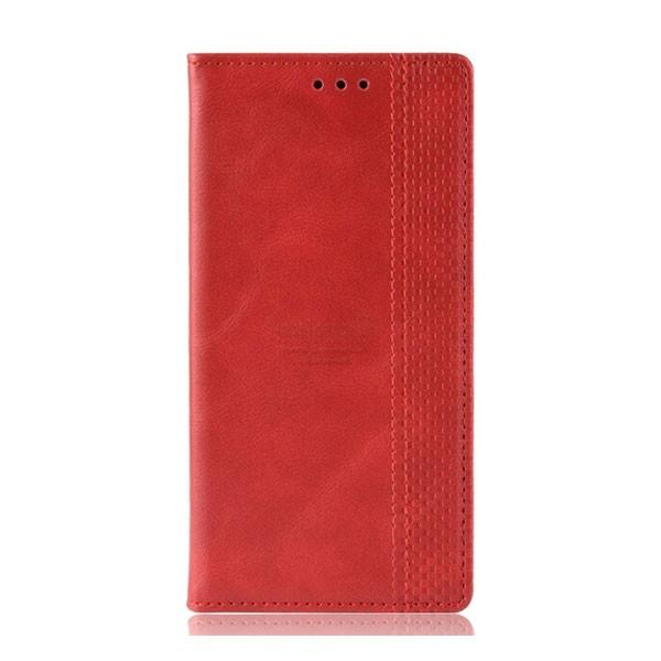 Чехол-книжка с магнитом, кошелёк,силикон для Xiaomi Redmi Note 8 (2019) (красный) 1