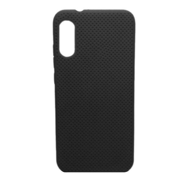 Чехол-накладка с перфорацией (силикон) для Xiaomi Mi 9 (2019) (черный) 1