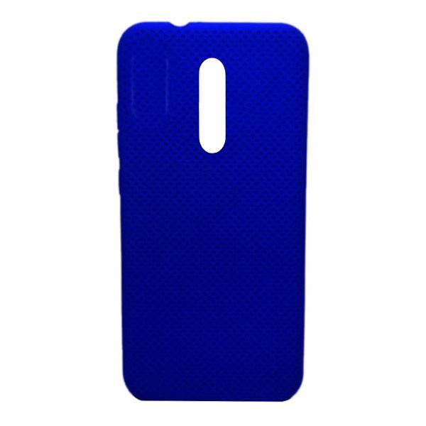 Чехол-накладка с перфорацией (силикон) для Xiaomi Mi 9T/K20 pro (2019) (темно-синий)