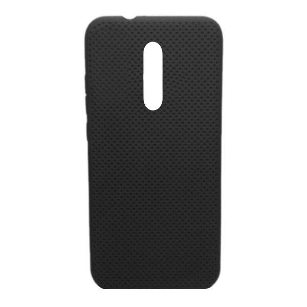 Чехол-накладка с перфорацией (силикон) для Xiaomi Mi 9T/K20 pro (2019) (черный) 1