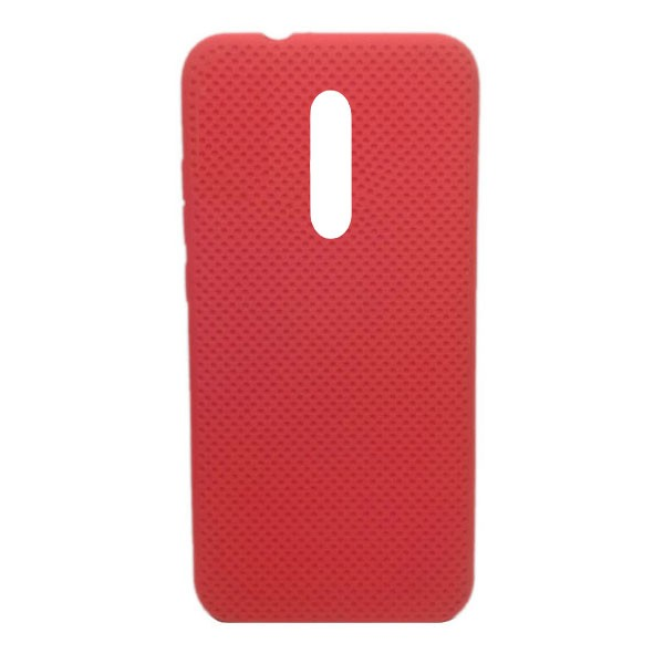 Чехол-накладка с перфорацией (силикон) для Xiaomi Mi 9T/K20 pro(2019) (красный) 1