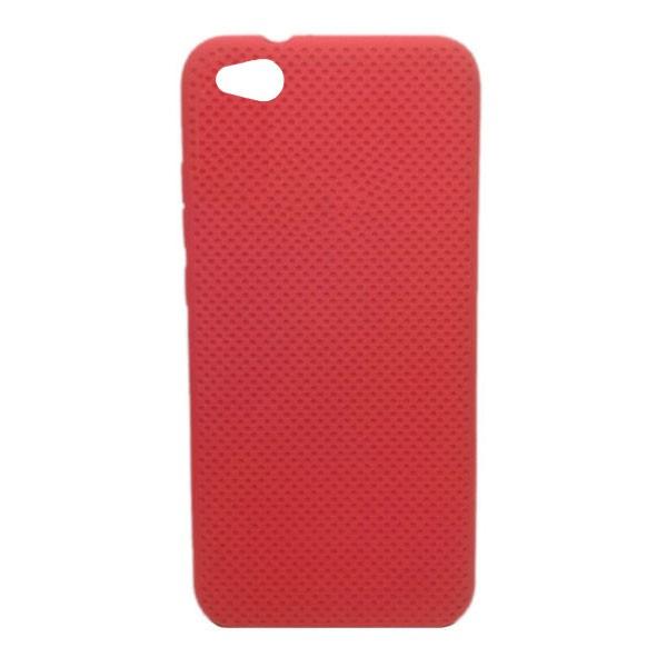 Чехол-накладка с перфорацией (силикон) для Xiaomi Redmi GO (Красный) 1