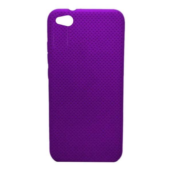 Чехол-накладка с перфорацией (силикон) для Xiaomi Redmi GO (Фиолетовый) 1