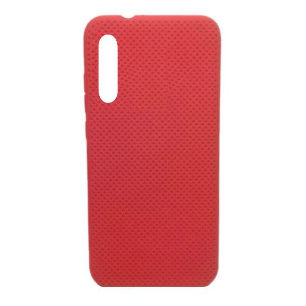 Чехол-накладка с перфорацией (силикон) для Xiaomi Mi CC9E/Mi A3 (2019) (красный) 1