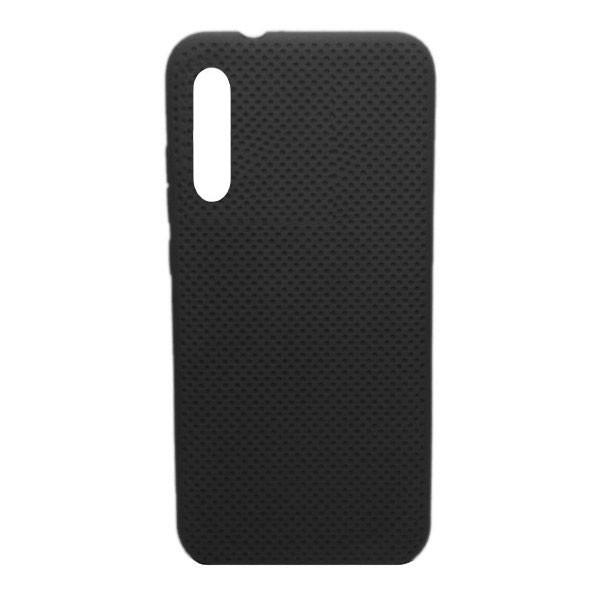 Чехол-накладка с перфорацией (силикон) для Xiaomi Mi CC9E/Mi A3 (2019) (чёрный)
