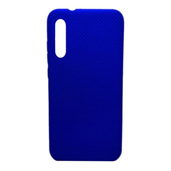 Чехол-накладка с перфорацией (силикон) для Xiaomi Mi CC9E/Mi A3 (2019) ( темно-синий) 1