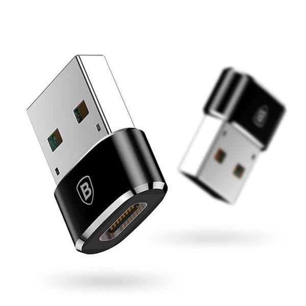 Переходник Baseus USB-C/USB Adapter CAAOTG-01 (Black)