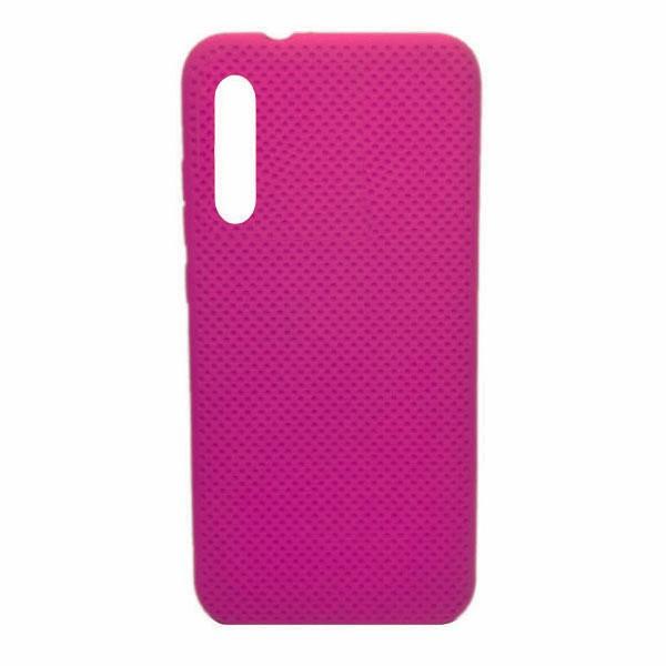 Чехол-накладка с перфорацией (силикон) для Xiaomi Mi CC9E/Mi A3 (2019) (ярко-розовый) 1
