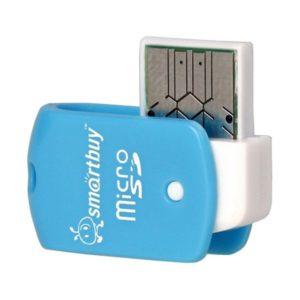Кардридер Smartbuy MicroSD, SBR-706 (blue)
