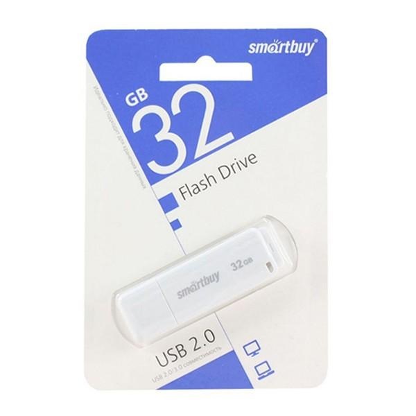 Флеш-накопитель Smart Buy 32GB LM05 (Белый) 1