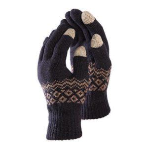 Перчатки Xiaomi Touchscreen Winter Wool Gloves (Черный)