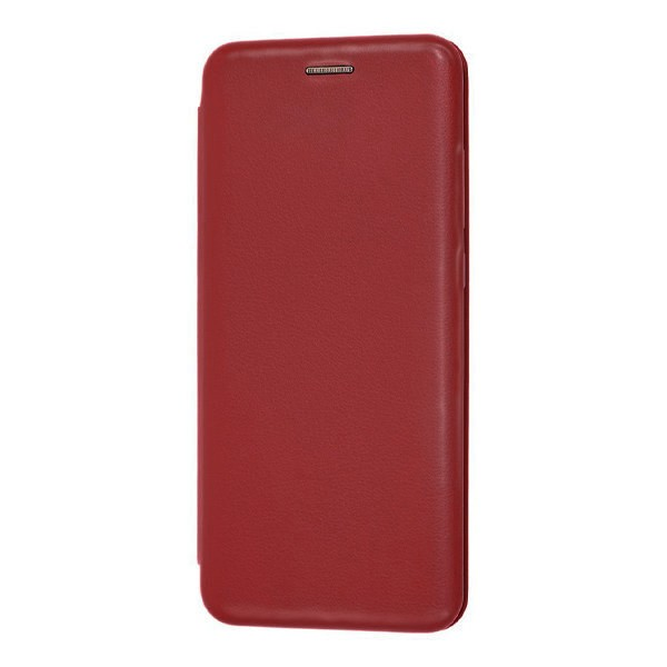 Чехол книжка 360 для Xiaomi Redmi 8 (Винный) 1