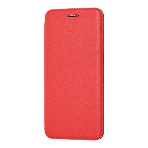 Чехол книжка 360 для Xiaomi Redmi Note 8 Pro (Красный)