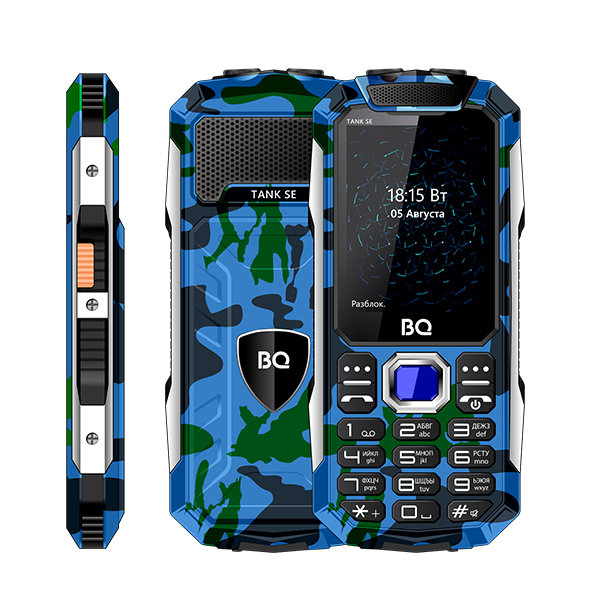 Мобильный телефон BQ BQM-2432 Tank SE (Camouflage) 1