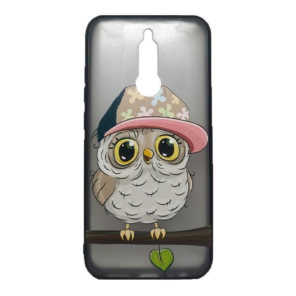 Чехол силиконовый с рисунком для Xiaomi Redmi 8 (owl boy) 1