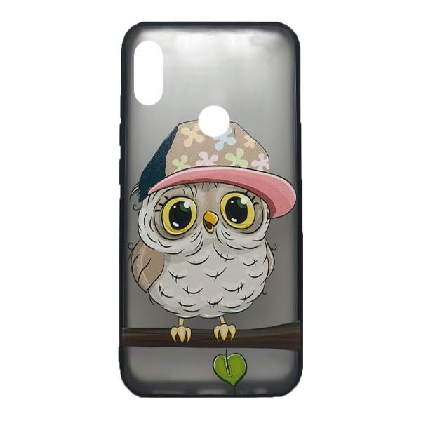 Чехол силиконовый с рисунком для Xiaomi Redmi Note 7 (owl boy)