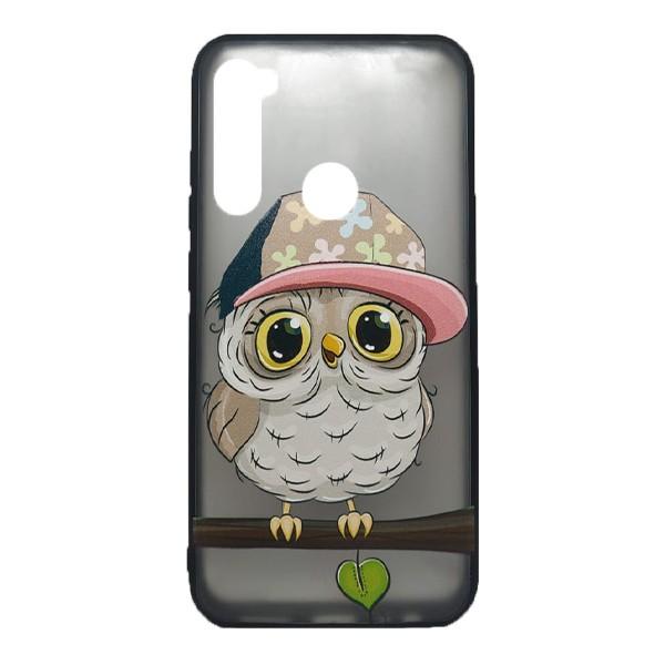 Чехол силиконовый с рисунком для Xiaomi Redmi Note 8 (owl boy)