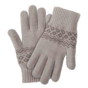 Перчатки Xiaomi Touchscreen Winter Wool Gloves (Бежевый)