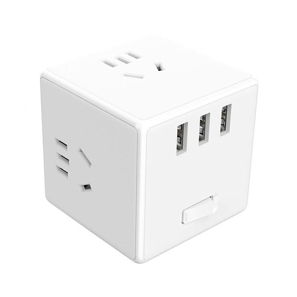 Переходник Xiaomi Mijia Cube Converter Standard Version (White)