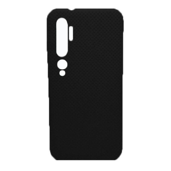 Чехол-накладка с перфорацией (силикон) для Xiaomi Mi Note 10 (Черный) 1