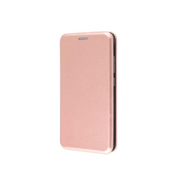 Чехол книжка 360 для Xiaomi Mi Note 10 (Розовое-золото)