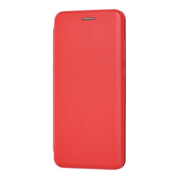 Чехол книжка 360 для Xiaomi Mi Note 10 (Красный) 1