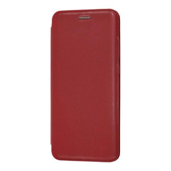 Чехол книжка 360 для Xiaomi Mi Note 10 (Винный)