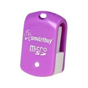 Кардридер Smartbuy MicroSD, SBR-706 (purple)