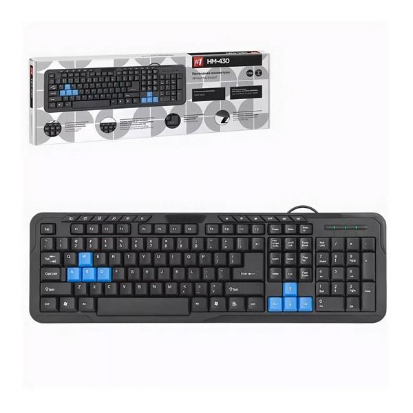 Клавиатура проводная DEFENDER HM-430 USB (black)